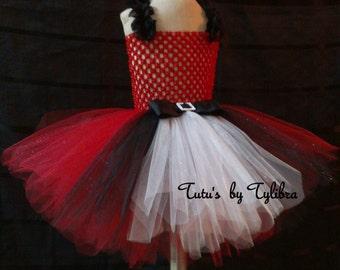 Red Tutu Dress, Valentine Tutu Dress, Christmas Tutu