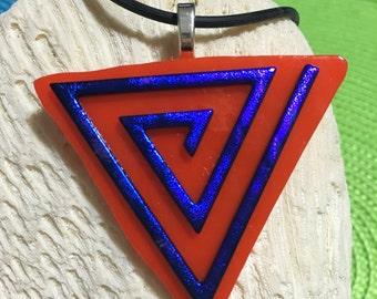 Purple Triangle Maze