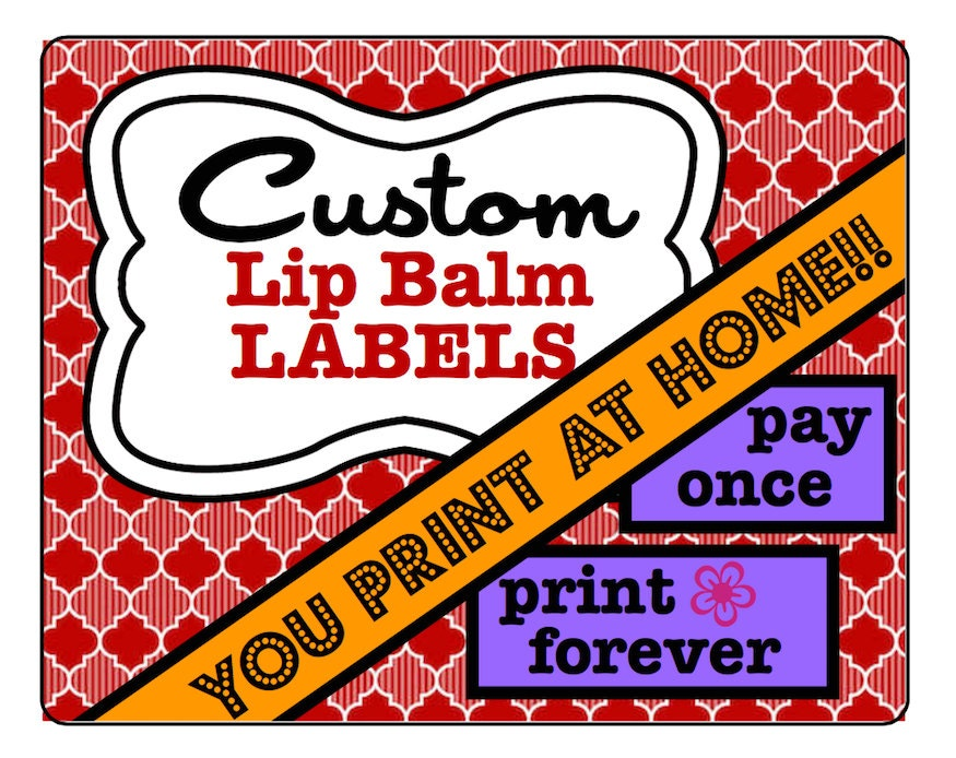 It's just a photo of Peaceful Printable Lip Balm Labels