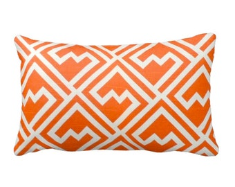 50% OFF SALE: 12x24 Pillow Covers Decorative Throw Pillow Covers Decorative Pillows Orange Cushion Covers Accent Pillows Orange Pillows