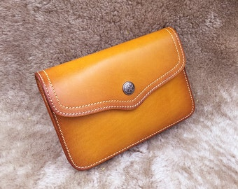 Retro leather shoulder bag,little leather bag,handmade leather goods,leather crossbody bag