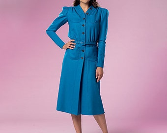 Butterick Pattern B6282 Misses' Dress and Belt