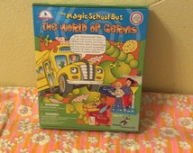 Vintage The Magic School Bus The World Of Germs Experiment Kit. Vintage Magic School Bus.