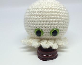Baby White Octopus