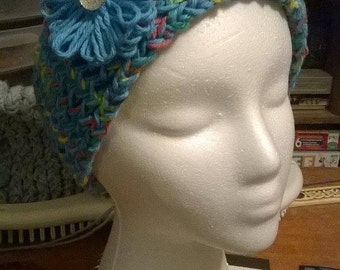 Knitted head wrap