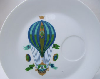 3 Georges Briard Fancy Free Balloon Snack Plates No Cups