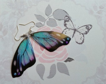 Pretty Magical Purple & Turquoise Earrings