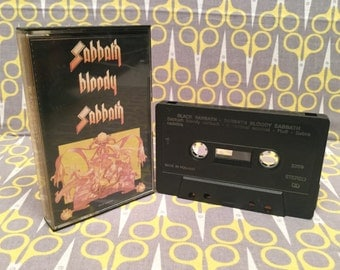 Sabbath Bloody Sabbath by Black Sabbath Cassette Tape heavy metal