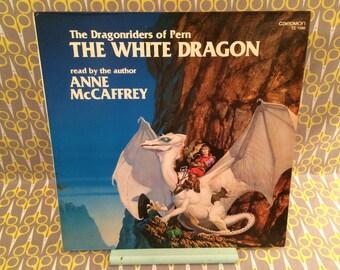 The Dragonriders of Pern - The White Dragon read by Anne McCaffrey Caedmon Rare Vinyl Record Album LP