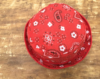 Reversible Bandana Bucket Hat for Baby