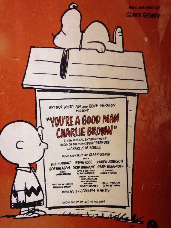 charlie brown sheet music pdf