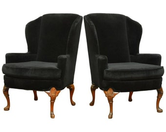 Wing Back Chair Etsy