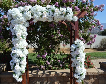 Wedding Arch Flowers, Wedding Arbor Flowers, Wedding arch decor, Wedding Arch Florals, Chuppah Flowers, Wedding Flowers