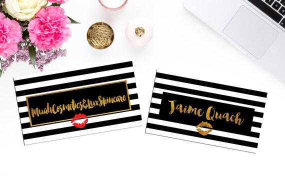 Hot digital foil business cards personalized modern cards for Vistaprint foil