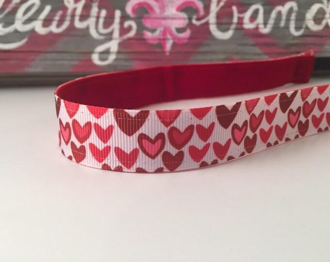 Nonslip Headband Hearts Galore
