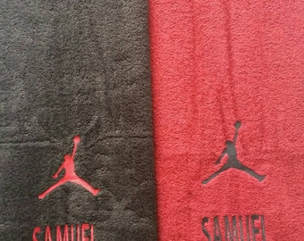 Set of 2 jordan towels (all colors available) SALE