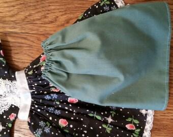 Sweet Floral Skirt Set for Dolls