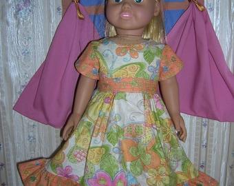 Butterfly summer dress D017