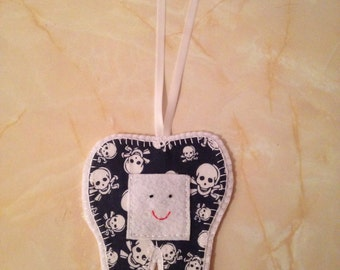Tooth Fairy Hanger, pirate tooth fairy hanger,