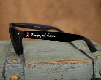 Laryngeal Cancer Awareness Wayfarer Sunglasses - AWLAR43191