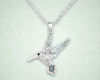 Hummingbird Necklace - 48076