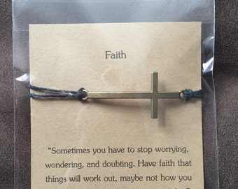 Faith Wish Bracelet.
