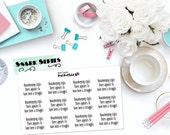 "SNARK SERIES: ""Housekeeping Style"" Paper Planner Stickers!"