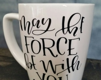 May The Force Be With You Yoda Coffee Mug