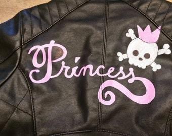 Princess Faux Leather Jacket