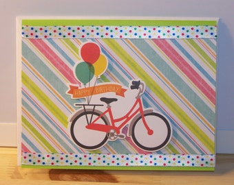 Birthday Card - Bicycle
