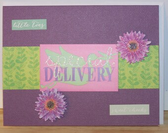 Baby - Special Delivery Card