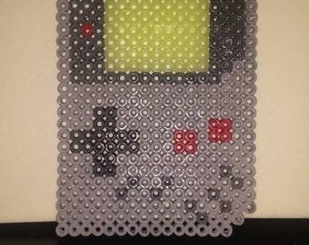 Glow In The Dark Nintendo Game Boy perler