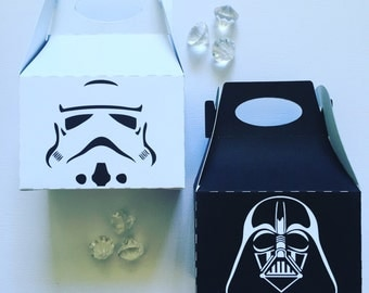 Star wars treat boxes