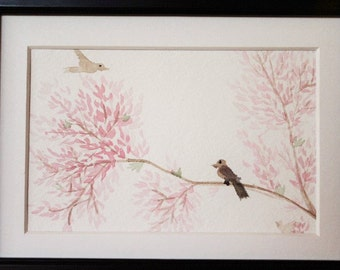 Twittering Cherry Blossoms