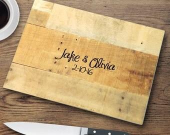 Custom Cutting Board - Glass Cutting Board - Personalized Cut Board