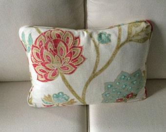 Feather Rectangular pastel shade cushion
