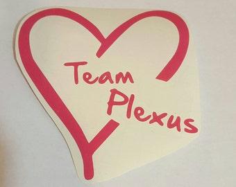 Plexus Slim Team Plexus decals