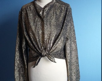 Golden thread vintage top size 14
