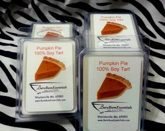 Pumpkin Pie Soy wax Tart/ Melt