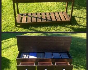 Custom Sideboard Credenza with hidden storage