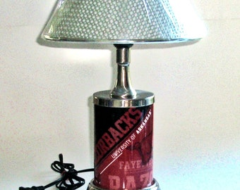 Arkansas Razorbacks Table Lamp
