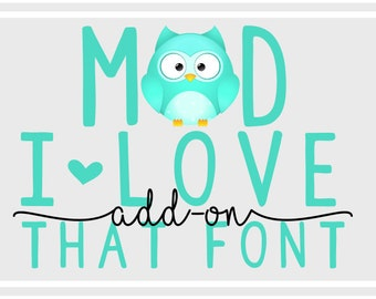 Words & Phrases SVG Cut File - Add-On Words - Phrases SVG - Personalized - Custom SVG - Cricut - Silhoutte