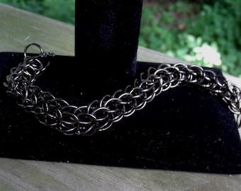 Full Persian Bracelet, chainmaille jewelry, chain maille bracelet, women's bracelet, men's jewelry, custom jewelry, handmade bracelet