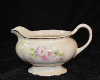 "Homer Laughlin Vintage Virginia Rose 6"" Creamer"