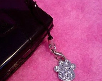 Paw Cell Phone Charm