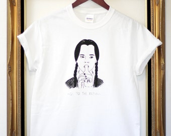 Wednesday Addams T Shirt