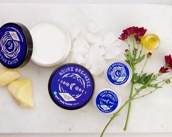 Organic & Vegan Midnight Bloom Body Butter - Handmade
