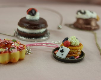 KAWAII Deco Sweets  Mad Hatter Tea Party Dessert Charms