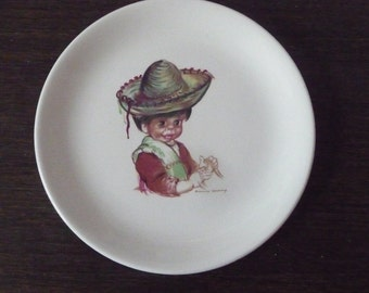 "1960s Brownie Downing Plate - 7"" 17.5cms"
