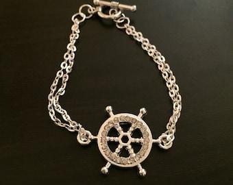Boat Wheel Bracelet